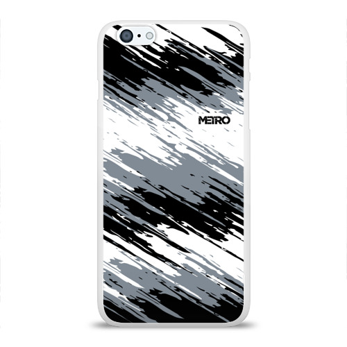 Чехол для iPhone 6/6S Plus глянцевый METRO Фото 01