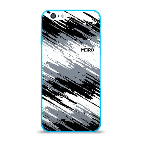 Чехол для iPhone 6/6S глянцевый METRO Фото 01