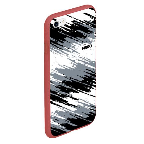 Чехол для iPhone 6Plus/6S Plus матовый METRO Фото 01