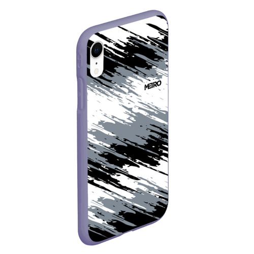 Чехол для iPhone XR матовый METRO Фото 01