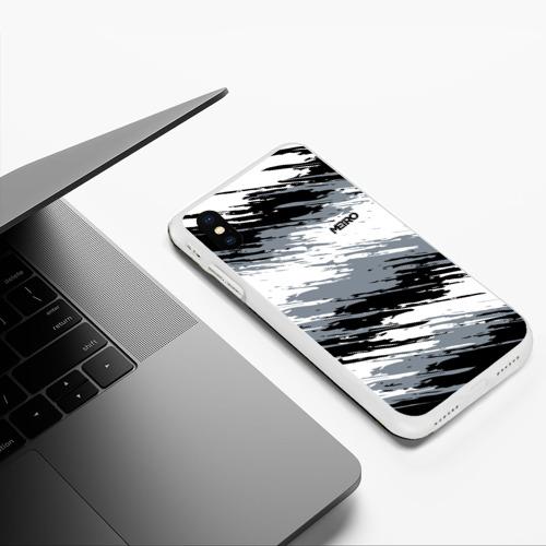 Чехол для iPhone XS Max матовый METRO Фото 01