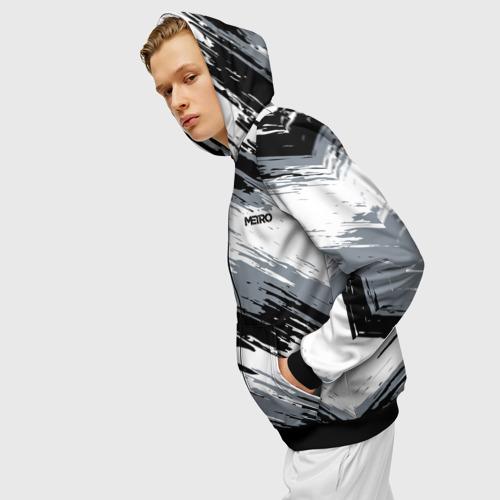 Мужская толстовка 3D на молнии METRO Фото 01