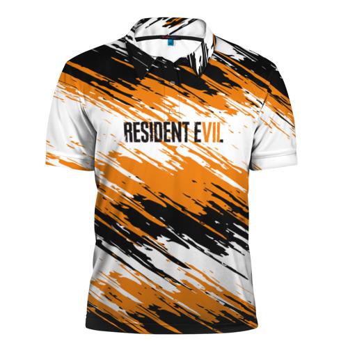 Мужская рубашка поло 3D  Фото 01, Resident Evil