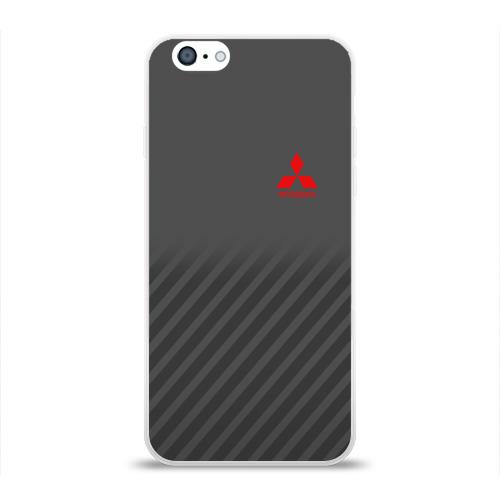 Чехол для Apple iPhone 6 силиконовый глянцевый MITSUBISHI SPORT Фото 01