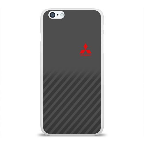 Чехол для Apple iPhone 6Plus/6SPlus силиконовый глянцевый MITSUBISHI SPORT Фото 01