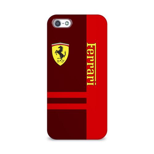 Чехол для Apple iPhone 5/5S 3D  Фото 01, Ferrari S.p.A.