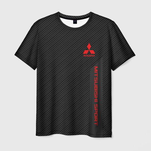 Мужская футболка 3D MITSUBISHI SPORT