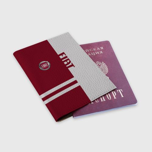 Обложка для паспорта матовая кожа  Фото 03, Fiat