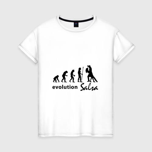 Женская футболка хлопок Evolution Salsa