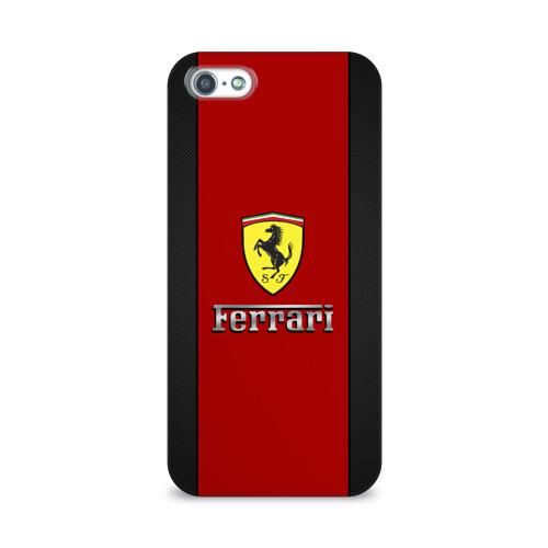 Чехол для Apple iPhone 5/5S 3D  Фото 01, Ferrari
