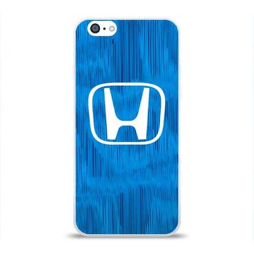 Чехол для Apple iPhone 6 силиконовый глянцевый  Фото 01, Honda sport color