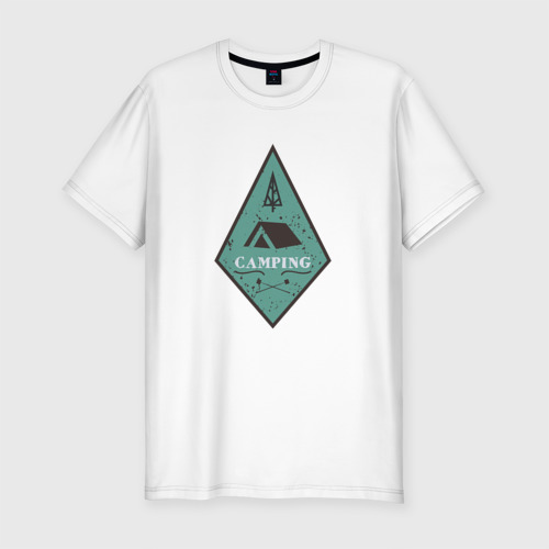 Мужская футболка премиум  Фото 01, Кемпинг
