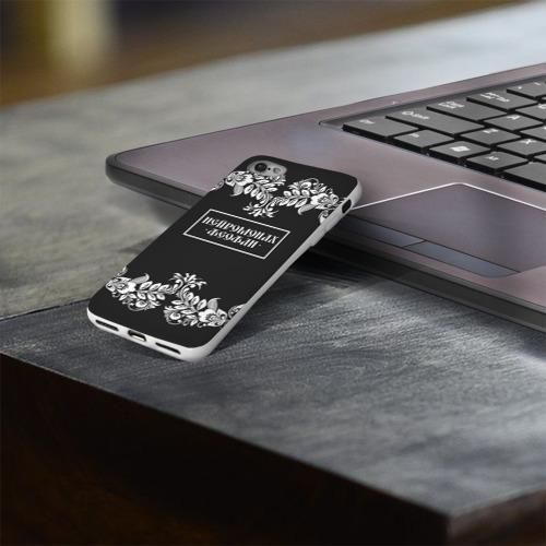 Чехол для Apple iPhone 8 силиконовый глянцевый  Фото 03, Нейромонах Феофан