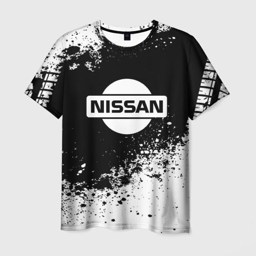 Мужская футболка 3D  Фото 01, Nissan abstract sport