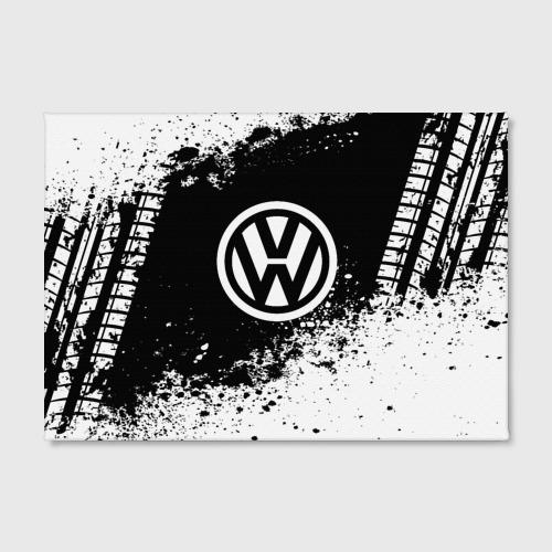 Холст прямоугольный  Фото 02, Volkswagen abstract sport
