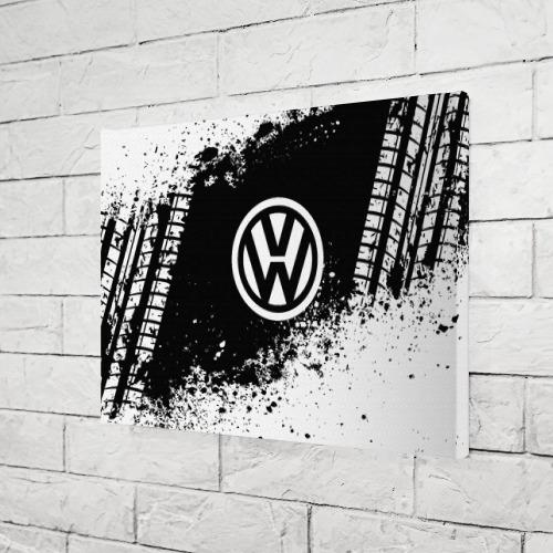 Холст прямоугольный  Фото 03, Volkswagen abstract sport