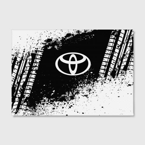 Холст прямоугольный  Фото 02, Toyota abstract sport
