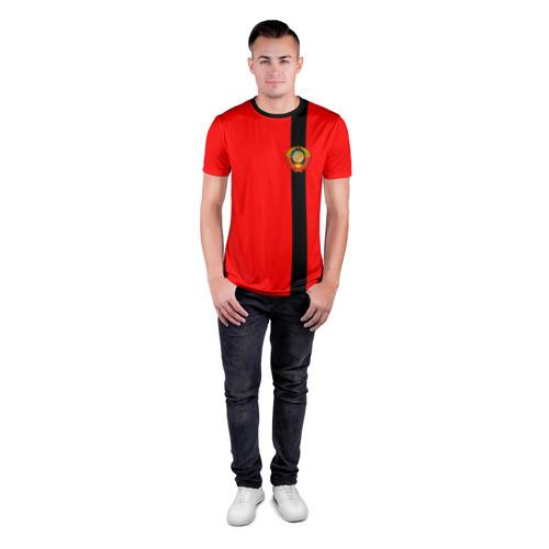 Мужская футболка 3D спортивная  Фото 04, С гербом СССР
