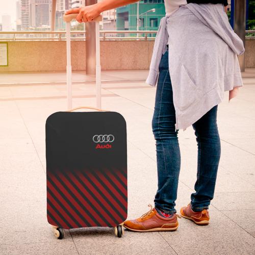 Чехол для чемодана 3D  Фото 04, AUDI  SPORT