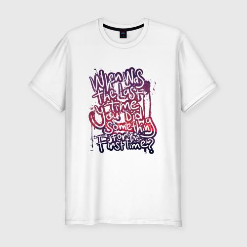 Мужская футболка премиум  Фото 01, Граффити