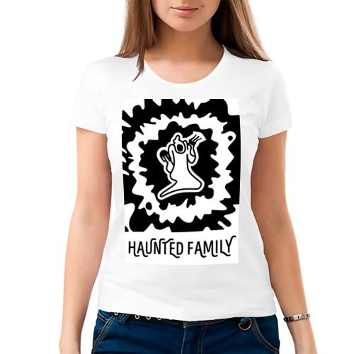 Женская футболка хлопок  Фото 03, Haunted Family