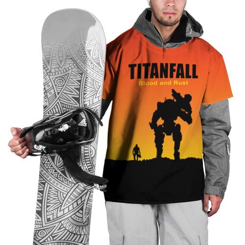 Накидка на куртку 3D  Фото 01, Titanfall 2