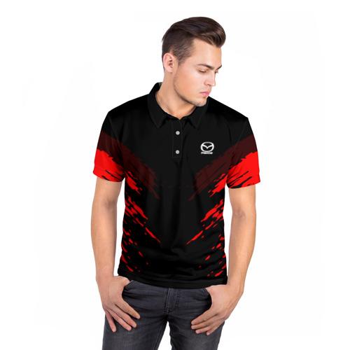 Мужская рубашка поло 3D  Фото 05, Mazda SPORT