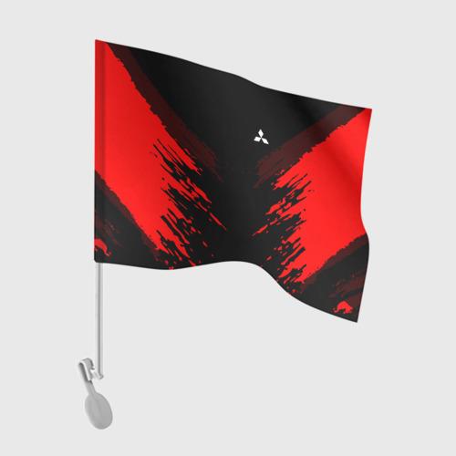 Флаг для автомобиля Mitsubishi SPORT Фото 01