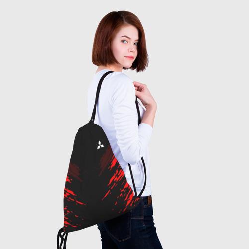Рюкзак-мешок 3D Mitsubishi SPORT Фото 01