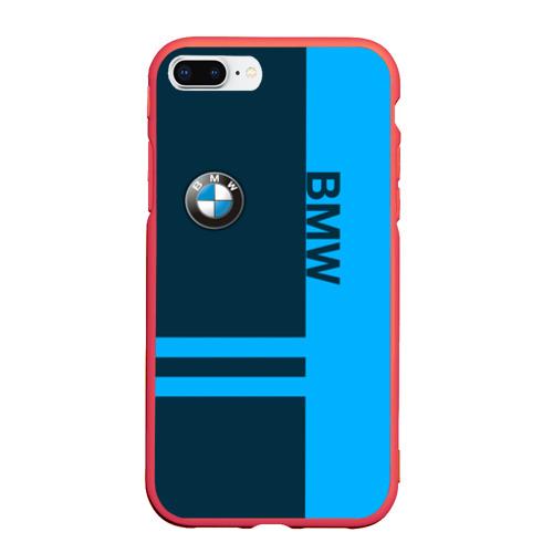 Чехол для iPhone 7Plus/8 Plus матовый BMW Фото 01
