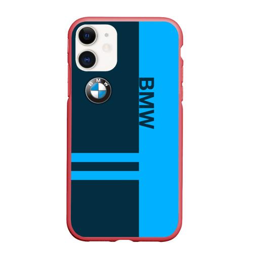 Чехол для iPhone 11 матовый BMW Фото 01