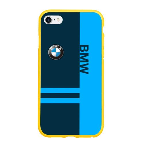 Чехол для iPhone 6/6S Plus матовый BMW Фото 01