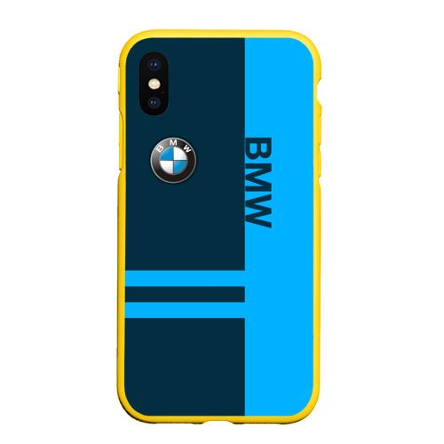 Чехол для iPhone XS Max матовый BMW Фото 01
