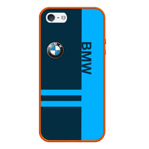 Чехол для iPhone 5/5S матовый BMW Фото 01