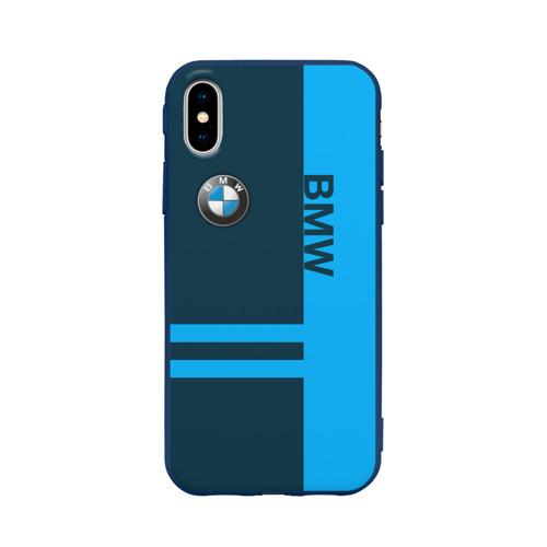 Чехол для iPhone X матовый BMW Фото 01