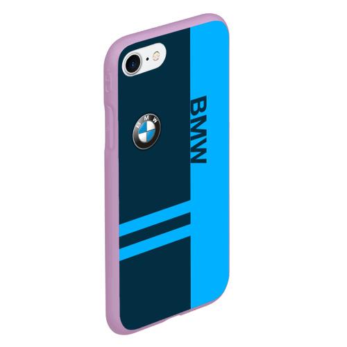 Чехол для iPhone 7/8 матовый BMW Фото 01