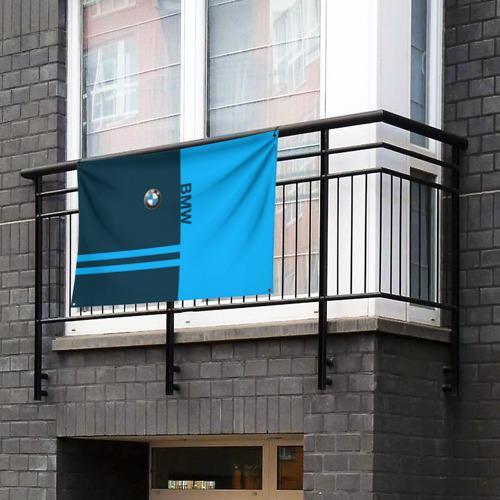 Флаг-баннер BMW Фото 01