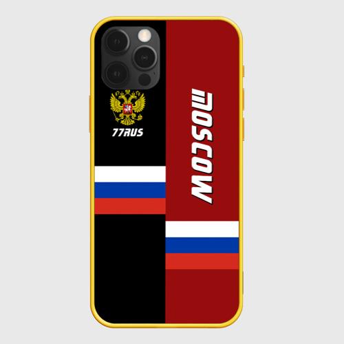 Чехол для iPhone 12 Pro Moscow (Москва) Фото 01