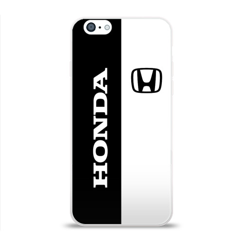 Чехол для Apple iPhone 6 силиконовый глянцевый  Фото 01, Honda