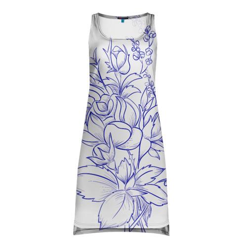 Платье-майка 3D Романтический стиль