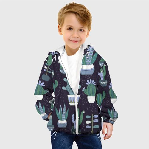 Детская куртка 3D  Фото 03, Кактусы
