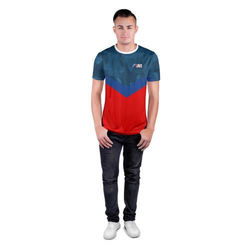 Мужская футболка 3D спортивная  Фото 04, BMW MOTORSPORT