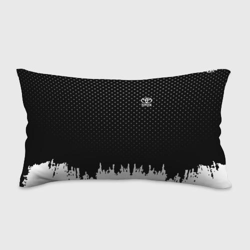 Подушка 3D антистресс  Фото 01, Toyota abstract black 2018