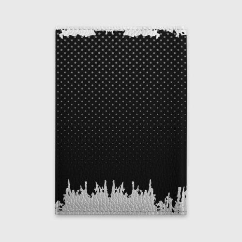 Обложка для автодокументов Mitsubishi abstract black Фото 01