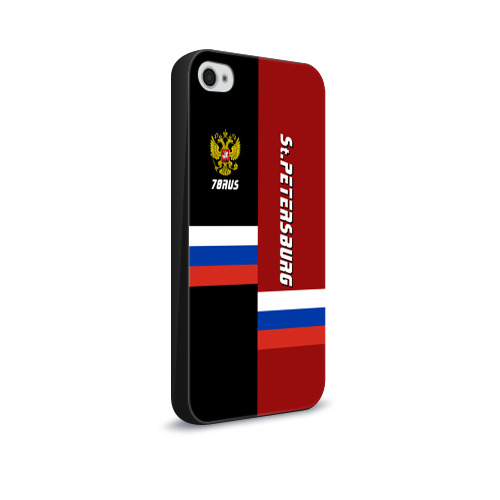 Чехол для Apple iPhone 4/4S soft-touch  Фото 02, St.Petersburg Санкт-Петербург