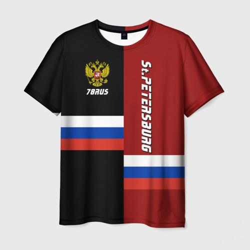 Мужская футболка 3D  Фото 03, St.Petersburg Санкт-Петербург