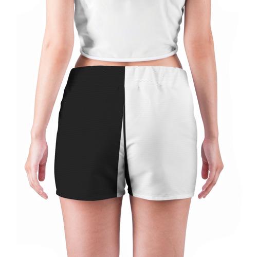 Женские шорты 3D  Фото 04, Черное или белое