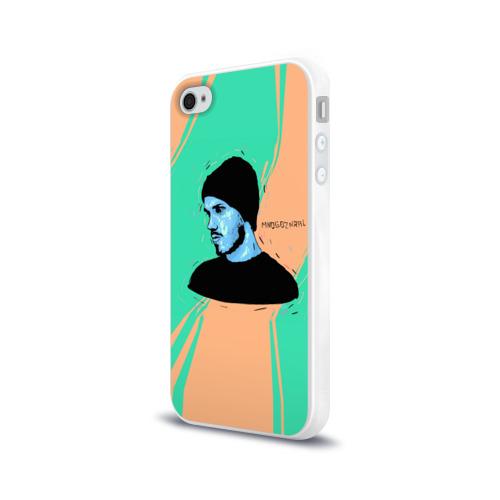Чехол для Apple iPhone 4/4S силиконовый глянцевый  Фото 03,  Многознаал