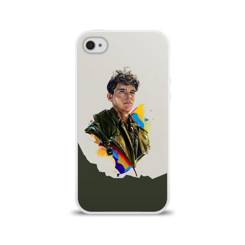 Чехол для Apple iPhone 4/4S силиконовый глянцевый Дюнкерк Фото 01