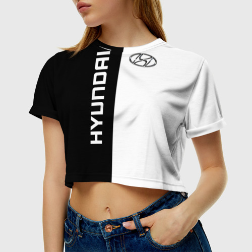 Женская футболка Cropp-top  Фото 01, Hyundai
